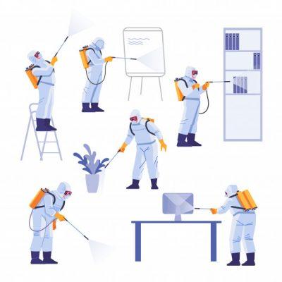 professional-contractors-doing-pest-control-office-coronavirus-protection-hazmat-team-protective-suits-decontamination-during-virus-outbreak-cartoon-illustration_147064-128